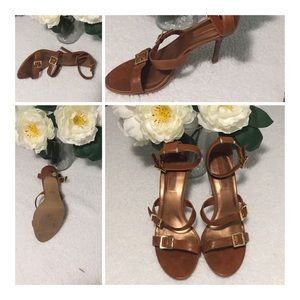 Diba Leather Sandal Size 8.5